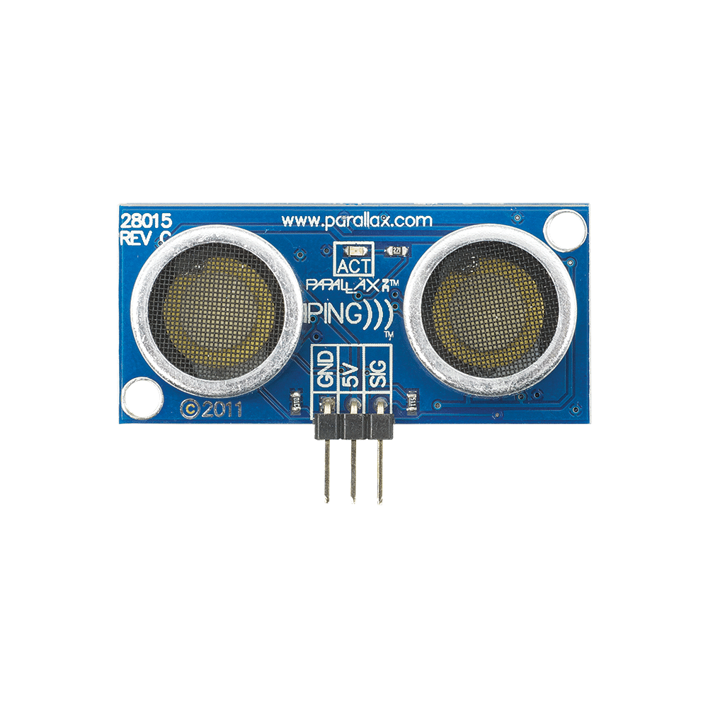 PING))) Ultrasonic Distance Sensor (#28015)