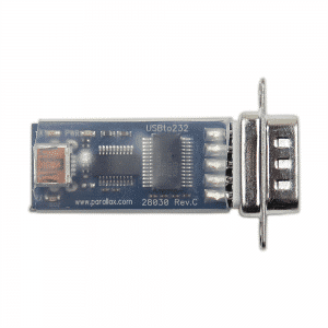 Parallax USB to Serial (RS-232) Adapter 28030