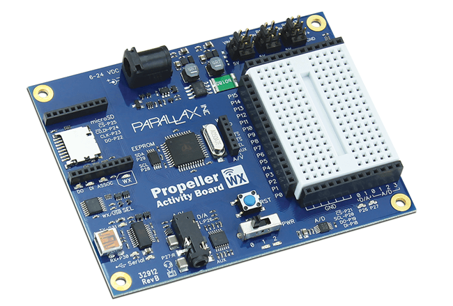 Propeller Activity Board WX
