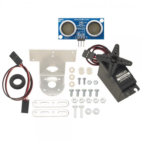 PING))) Ultrasonic Sensor + Mounting Bracket