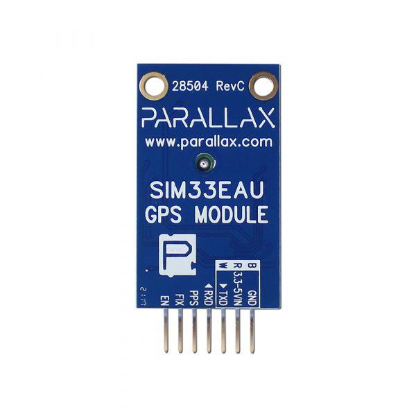 Front image of SIM33EAU GPS Module #28504 PCB