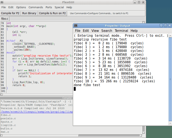 C Programming with Propeller 2