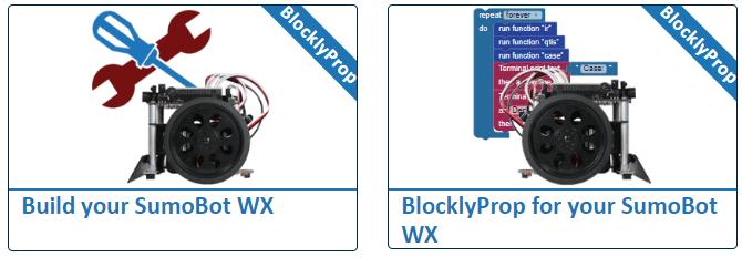 SumoBot WX Tutorials