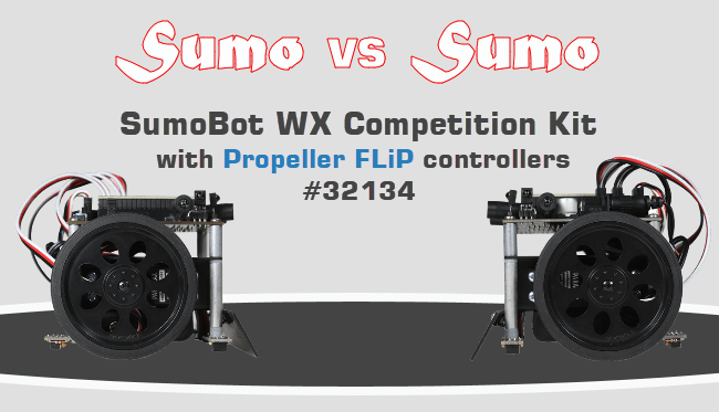 SumoBot WX Competition Kit