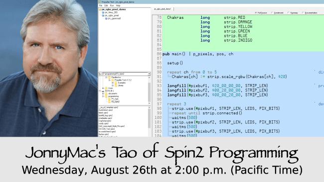 Jon McPhalen programming tips for the Parallax Propeller 2