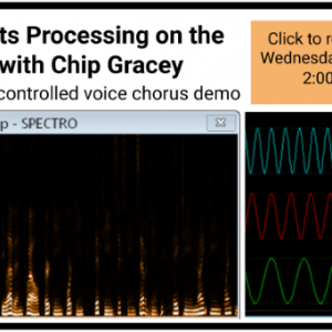 Audio effects processing on the Propeller 2 with Chip Gracey