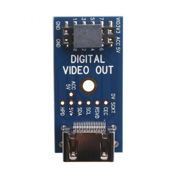 P2 Eval Digital Video Out Add-on Board (#64006D)