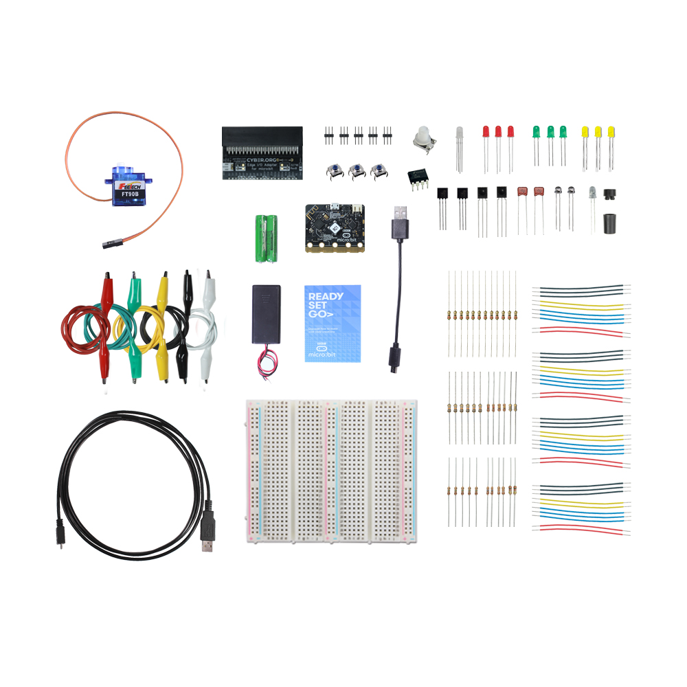 32750 What's a Microcontroller? with Python and micro:bit - complete kit parts