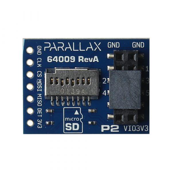 P2 microSD Add-on Board SKU 64009